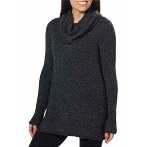 Dkny Jeans Sweater Tunic Cowl Neck Pullover NWT